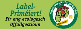 Logo de l'initiative SuperDrecksKëscht au Luxembourg